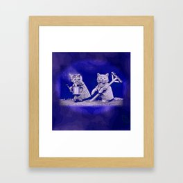 CatCurios 01 Framed Art Print