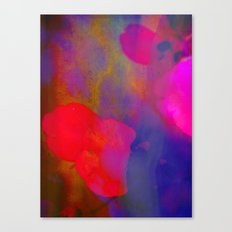 She Always Colored Outside the Lines Canvas Print