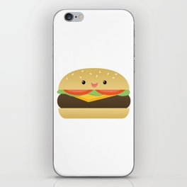 Happy Cheeseburger iPhone Skin