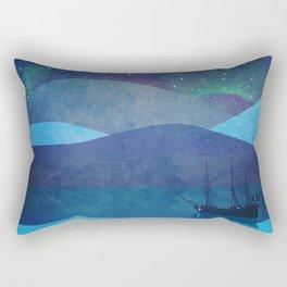 The North Pole Rectangular Pillow