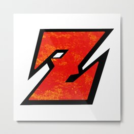 DBZ Metal Print
