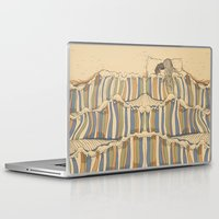 waves Laptop & iPad Skins featuring Ocean of love by Huebucket