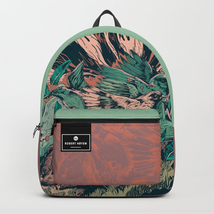 Remix of bear Backpack