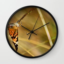 The Fall Cometh Wall Clock