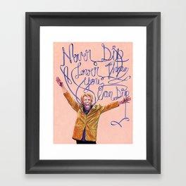 Gary Busey Framed Art Print