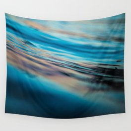 Oily Reflection Wall Tapestry