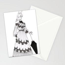 skull head Stationery Cards