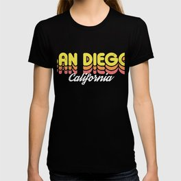 Retro San Diego California T-shirt
