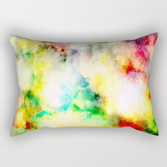 Fume Color Splash 01 Rectangular Pillow