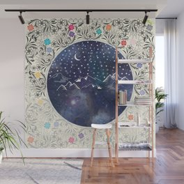 Beautiful starry night Wall Mural