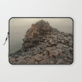 Sunny morning in Giant's Causeway Laptop Sleeve