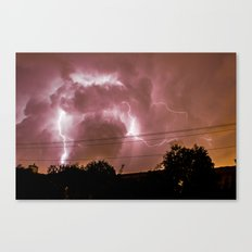 Electric Madness Canvas Print
