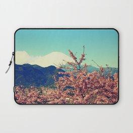 Mountains & Flowers Landscape Laptop Sleeve