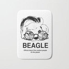 Beagle Puppy Dog Bath Mat