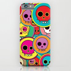 Button Skulls iPhone 6s Slim Case