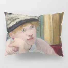 Manet,Fine Art,Beautiful,Wall Art,Framed,Poster,Canvas,Prints,Notebooks,Card,Gift,Gifts,Special,Rare Pillow Sham