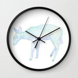 Les Animaux: Doe Wall Clock