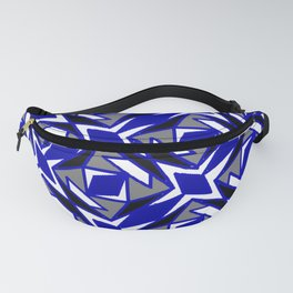 Martial Arts Karate Feng Shui Funky Shapes Fanny Pack