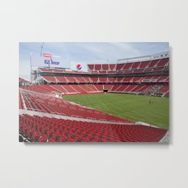 Levis Stadium Metal Print