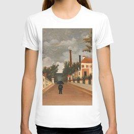Henri Rousseau - Vue des environs de Paris T-shirt