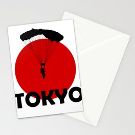 Paragliding and Tokyo Stationery Cards