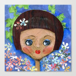 Dollface Canvas Print