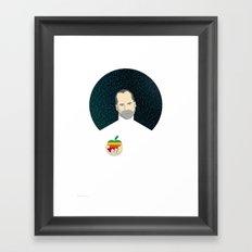 Steven Jobs / Apple Framed Art Print