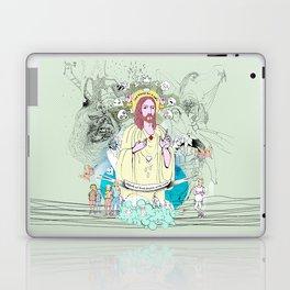 Jesus - Sed libera nos a malo Laptop & iPad Skin