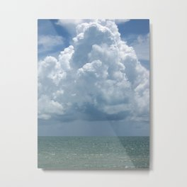 Rainfall Over Fort Zachary Metal Print