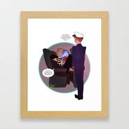 Cabinlock Framed Art Print