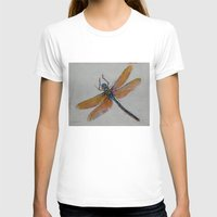dragonfly T-shirts featuring Dragonfly by Michael Creese