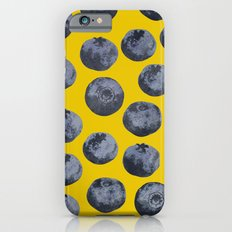 Blueberry pattern iPhone 6s Slim Case