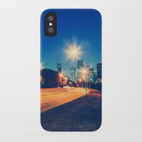 houston iPhone & iPod Cases featuring Houston by GF Fine Art Photography