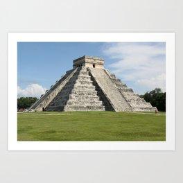 Chitchen Itza, Yucutan Peninsula, Mexico Art Print