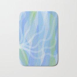 Walking Each Other Home - Ram Dass (blue) Bath Mat