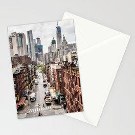 New York City Skyline (Brooklyn, Queens, Manhattan) Stationery Cards