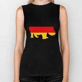 German Flag - Hippo Biker Tank