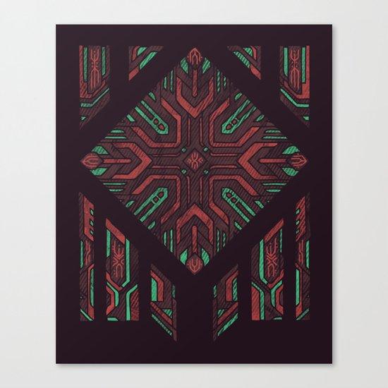 Compartmentalized Canvas Print
