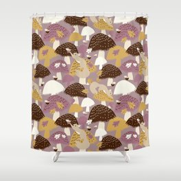 Fall Acorn Hunt Shower Curtain