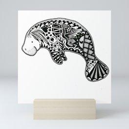 Manatee Mini Art Print
