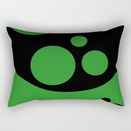 Arbitrary Orbit X Rectangular Pillow