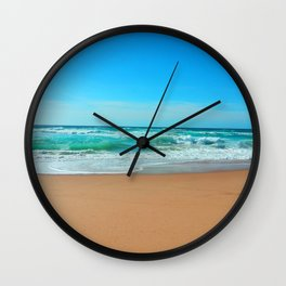 Salty Lookout Wall Clock