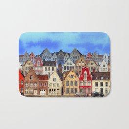 House, Bruges, Belgium Bath Mat