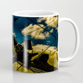 Sailor at Reefpoint High Contrast Photo Coffee Mug