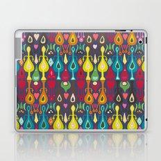 indigo love ikat Laptop & iPad Skin