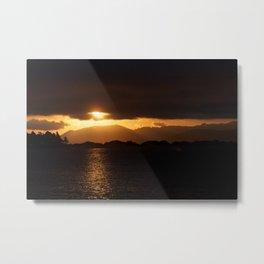 Radiant Dunedin Metal Print