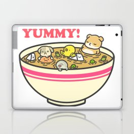 Yummy! Pet Bowl Laptop & iPad Skin