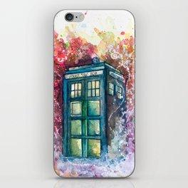 Doctor Who Tardis iPhone Skin