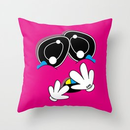 MENSA (Original Characters Art By AKIRA) Throw Pillow