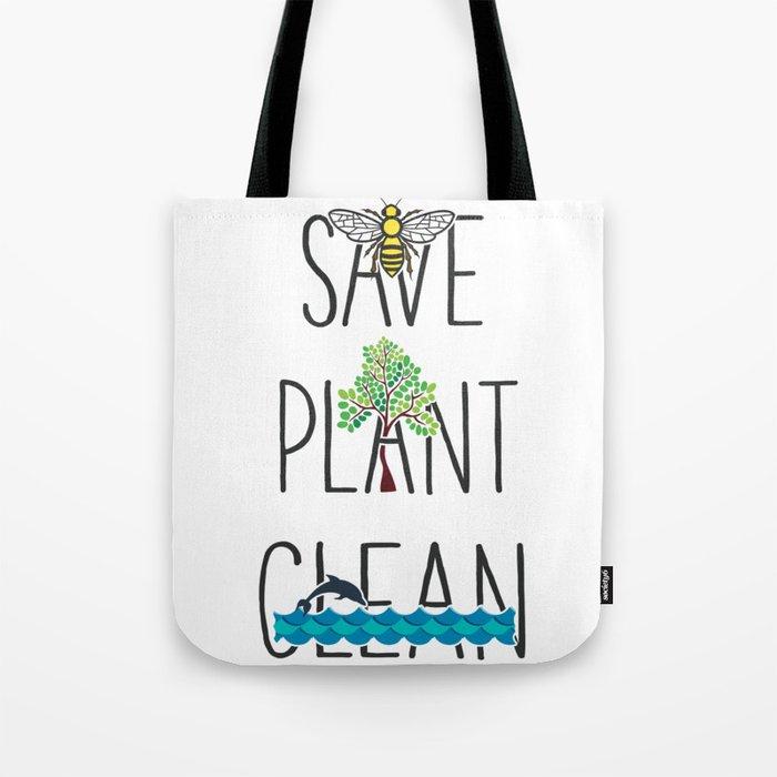 Save the Bees Original Art Tote Bag